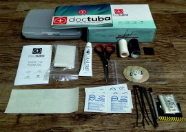 Kite repair kit from Dr Tuba