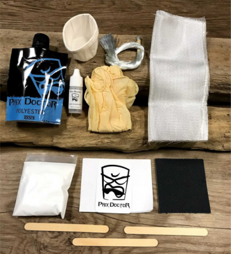 Surf board repair kit from Phix Doctor
