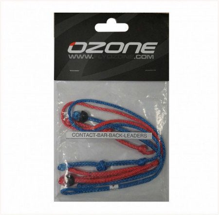 Ozone leader line set for contact water bars