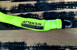 Mystic Handle Pass Leash. Neo. Lime/Grey. images