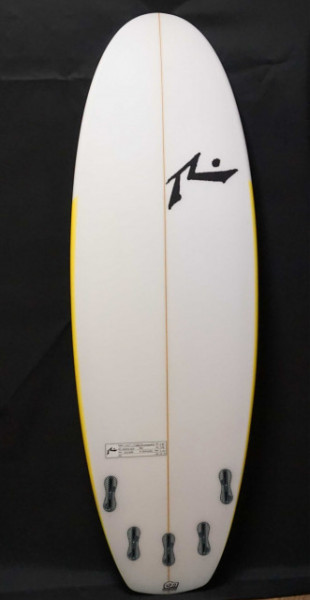 muffin top surf board from Rusty