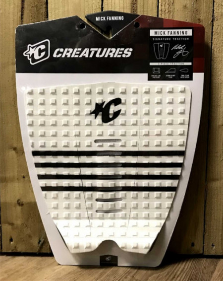 Creatures Tail Pad. Mick Fanning. Black/White.