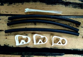 (23) Dr Tuba One Pump Repair Kit. 3 Piece. images