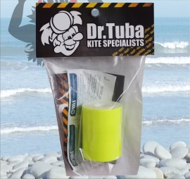 Dr Tuba Sticky Back Dacron FLORESCENT YELLOW images