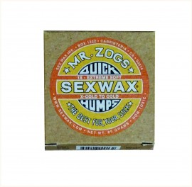 Sex Wax Quick Humps. Yellow.