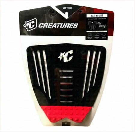 Creatures Tail Pad. Nat Yong. Black/Red.