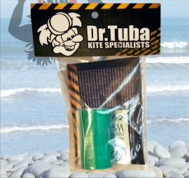 Dr Tuba Sticky Back RipStop Nylon GREEN images