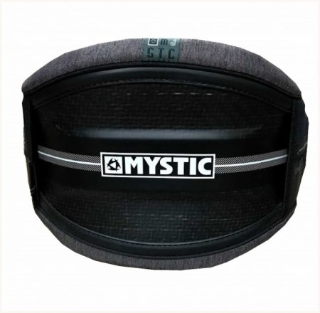 Man's Mystic Majestic. Waist Harness. Black. Freeride/Freestyle/Surf.