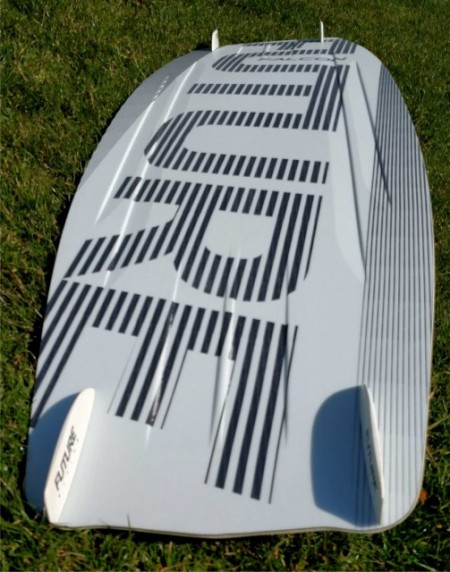 (10) Future F16 Fighting Falcon 140 x 43cm Kitesurfing Board. Used. images