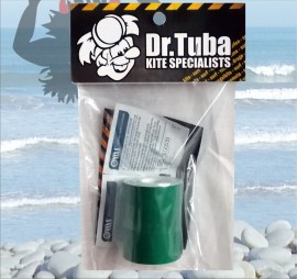 Dr Tuba Sticky Back Dacron GREEN images