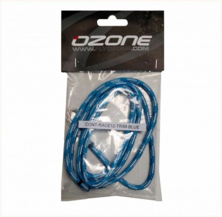 Ozone blue trimmer line for race bars