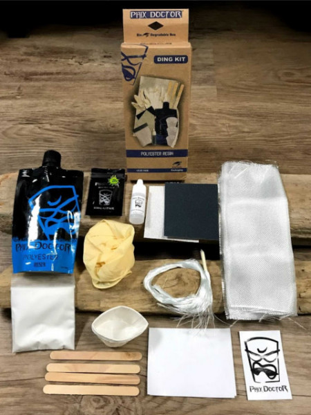 Polyester surfboard repair kit from Phix Doctor
