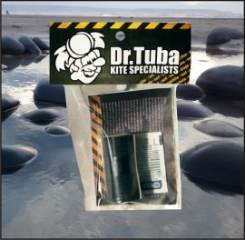 Dr Tuba Sticky Back RipStop Nylon BLACK images