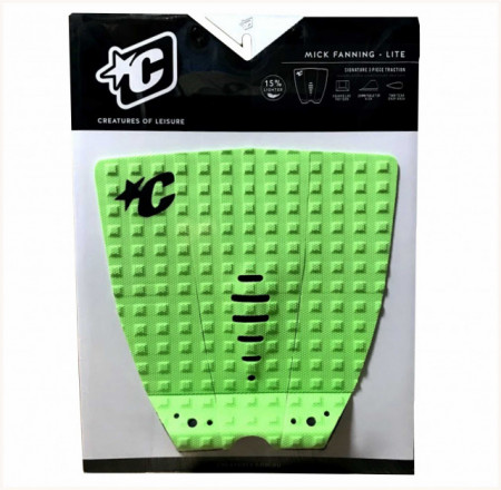 Creatures Tail Pad. Mick Fanning. Lite Lime.