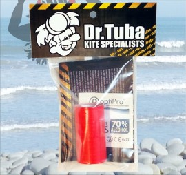 Dr Tuba Sticky Back RipStop Nylon RED images
