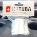 Dr Tuba Sticky Back RipStop Nylon WHITE