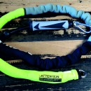 Mystic Handle Pass Leash. Neo. Lime/Grey.