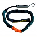 Mystic Handle Pass Leash. Neo. Teal.