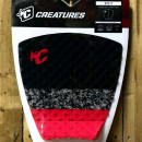 Creatures Tail Pad. Split. Black/Camo/Red.