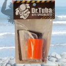 Dr Tuba Sticky Back Dacron ORANGE