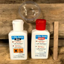 5 minutes cure epoxy glue for surf board repairs