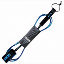 FCS All Round Surf Leash. 7' Ankle. Blue/Black.