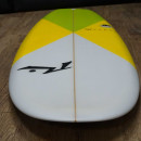 """Rusty muffin tops 5'8"""" with FCS 2 fins"""