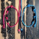 Kitesurfing spare parts for Ozone kites, leader line set for wake style and compact bars with click in loop
