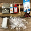 Complete surfboard repair kit from Dr Tuba