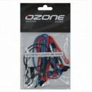 (068) Ozone Leader Line Set. 2016 Onwards. Blue Soft Ends.