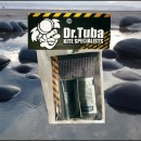 Dr Tuba Sticky Back RipStop Nylon BLACK