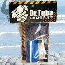 Dr Tuba Sticky Back RipStop Nylon BLUE