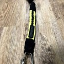 Mystic Short Safety Leash. Lime.