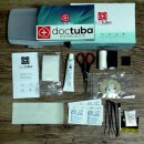 Kite repair kit with dacron, ripstop and TPU glue