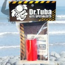 Dr Tuba Sticky Back RipStop Nylon RED