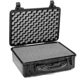 Pelican 1520 hard carry case. Black. (45.9 x 32.7 x 17.1 cm) PRICE INCLUDES VAT & SHIPPING. images