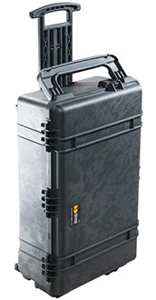 Pelican 1670 hard carry case. Black.(71.3 x 41.9 x 23.3 cm) PRICE INCLUDES VAT & SHIPPING. images