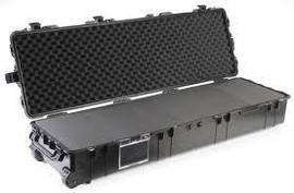 Pelican 1770 long carry case. Black. (138.6 x 39.6 x 21.9 cm) PRICE INCLUDES VAT & SHIPPING. images