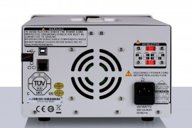 Siglent SPD3303X-E Programmable DC Power Supply. 3 channels independent output, min resolution 10Mv / 10mA, USB Device & LAN, 4.3 inch LCD display PRICE INCLUDES VAT & SHIPPING. images
