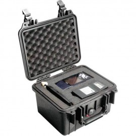Pelican 1300 hard carry case. Black. (23.3 x 17.8 x 15.5 cm) PRICE INCLUDES VAT & SHIPPING. images