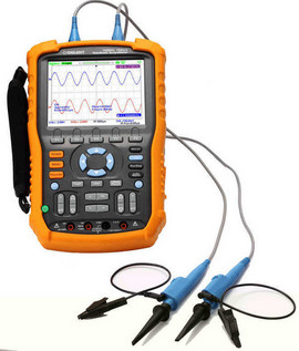 Siglent SHS1062 60 MHz two channel handheld oscilloscope. Isolated inputs. PRICE INCLUDES VAT & SHIPPING. images