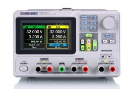 Siglent SPD3303X Programmable DC Power Supply. 3 channels independent output, min resolution 1mV / 1mA, USB Device & LAN, 4.3 inch LCD display. PRICE INCLUDES VAT & SHIPPING. images