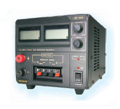 Manson EP-613 bench power supply. 0-30V 2.5A, 12V 0.5A, 5V 0.5A. PRICE INCLUDES VAT & SHIPPING. images