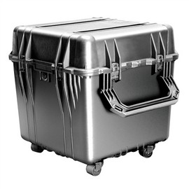 Pelican 0340 cube carry case. Black. (45.7 x 45.7 x 45.7 cm) PRICE INCLUDES VAT & SHIPPING. images