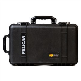 Pelican 1510 hard carry case. Black (50.1 x 27.9 x 19.3 cm) PRICE INCLUDES VAT & SHIPPING. images