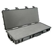 Pelican 1700 long carry case. Black, Olive & Desert Tan (90.8 x 34.3 x 13.3 cm) PRICE INCLUDES VAT & SHIPPING. images
