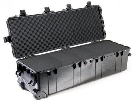 Pelican 1740 long carry case. Black, Olive & Desert Tan (104 x 32.8 x 30.8 cm) PRICE INCLUDES VAT & SHIPPING. images