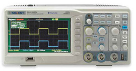 Siglent SDS1052DL+ 50 MHz two channel oscilloscope. PRICE INCLUDES VAT & SHIPPING. images