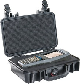 Pelican 1170 hard carry case. Black. (26.8 x 15.3 x 8 cm) PRICE INCLUDES VAT & SHIPPING. images