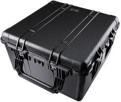 Pelican 1640 hard carry case. Black. (60.2 x 60.9 x 35.3 cm) PRICE INCLUDES VAT & SHIPPING. images